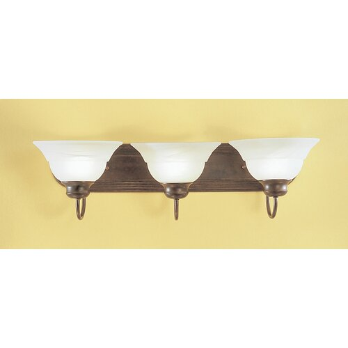 Classic Lighting Glendale 3 Light Bath Vanity Light