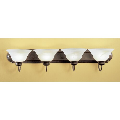 Classic Lighting Glendale 4 Light Bath Vanity Light