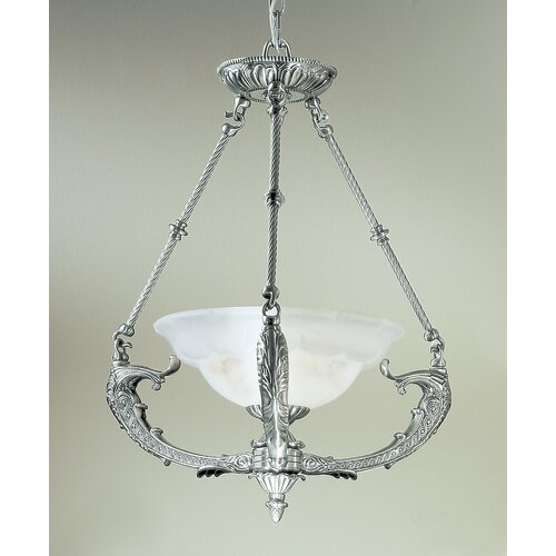 Classic Lighting Victorian I 1 Light Inverted Pendant