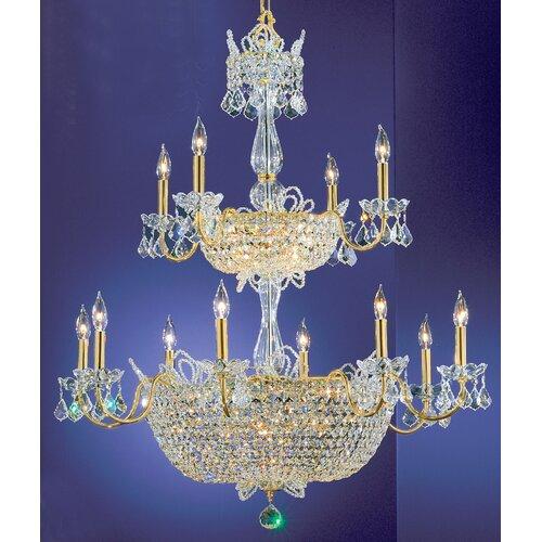 Crown Jewels 32 Light Chandelier