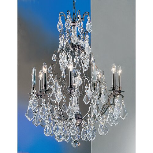 Classic Lighting Versailles 9 Light Chandelier