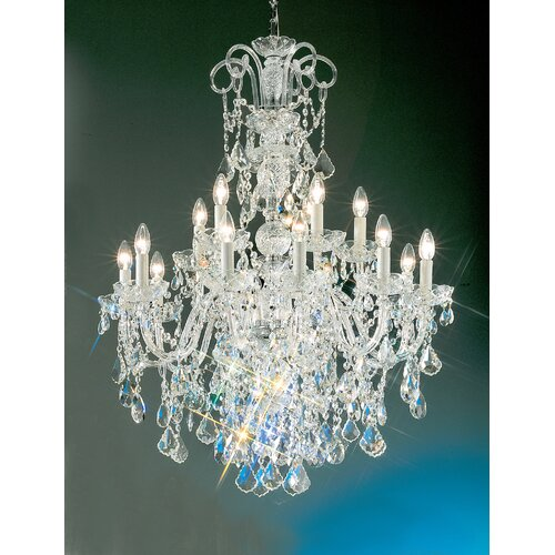 Classic Lighting Bohemia 15 Light Chandelier