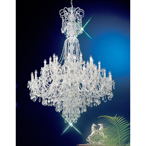 Classic Lighting Bohemia 40 Light Chandelier