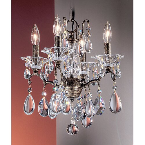 Garden of Versailles 4 Light Mini-Chandelier