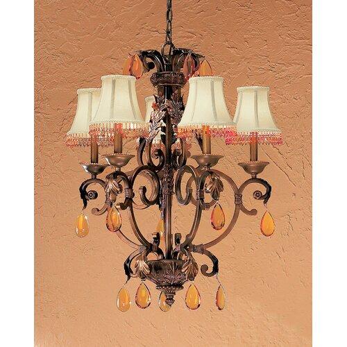 Classic Lighting Asheville 6 Light Chandelier