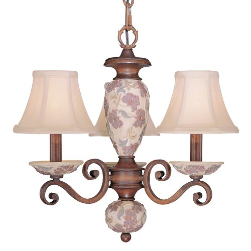 Classic Lighting Tapestry 3 Light Mini-Chandelier