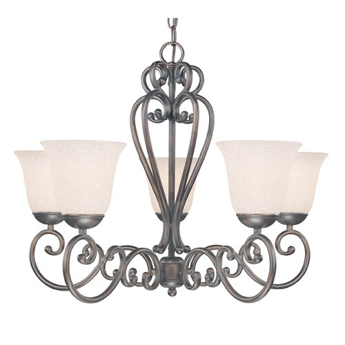 Classic Lighting Cape Cod 5 Light Chandelier