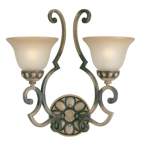 Classic Lighting Westchester 2 Light Wall Sconce