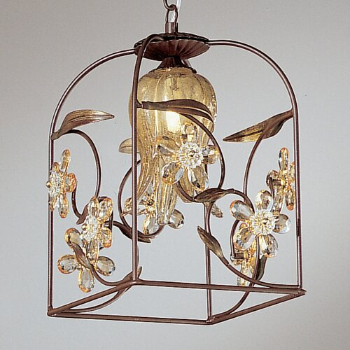 Classic Lighting Florentine 1 Light Outdoor Hanging Lantern