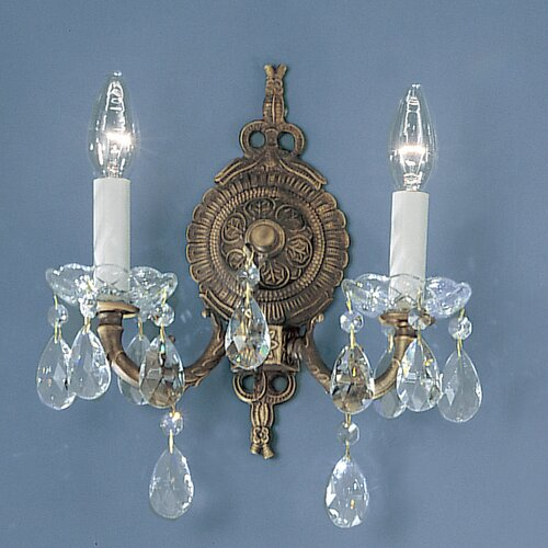 Classic Lighting Madrid 2 Light Wall Sconce