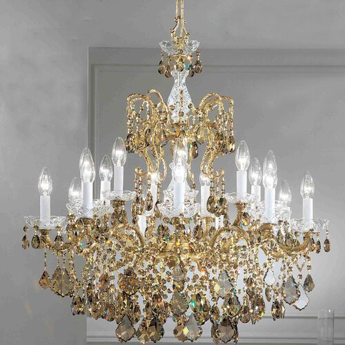 Madrid Imperial 18 Light Chandelier