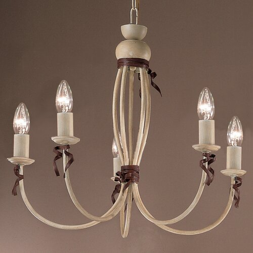 Classic Lighting Belluno 5 Light Chandelier
