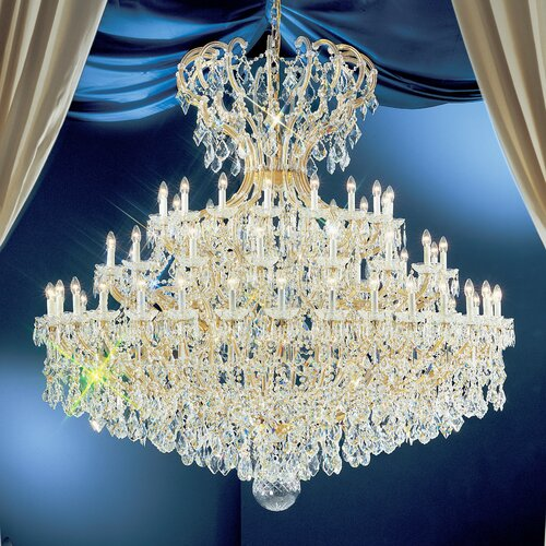 Classic Lighting Maria Thersea 72 Light Chandelier