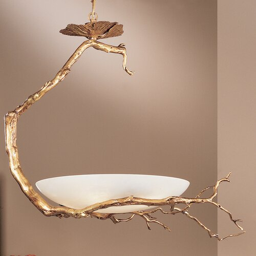 Classic Lighting Harvest Moon 6 Light Inverted Pendant