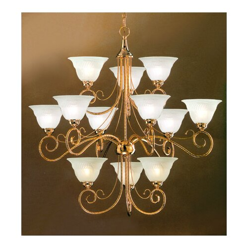 Classic Lighting Torino 12 Light Chandelier