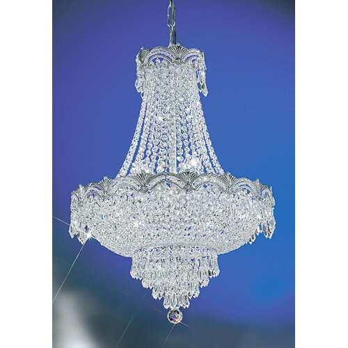 Classic Lighting Regency II 8 Light Chandelier