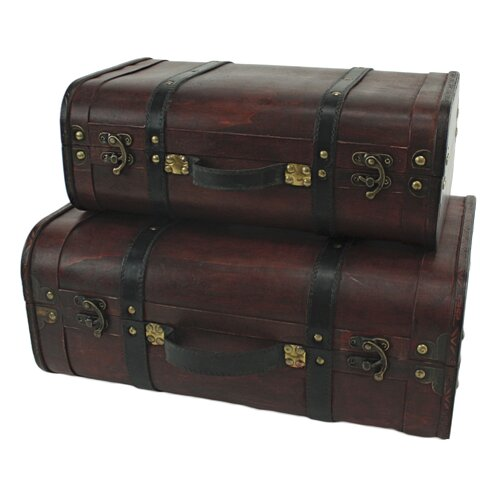 Aspire Rothschild 2 Piece Suitcase Trunk Set
