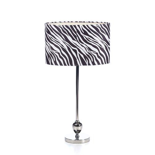 """Aspire Zebra 25"""" H Table Lamp with Drum Shade"""