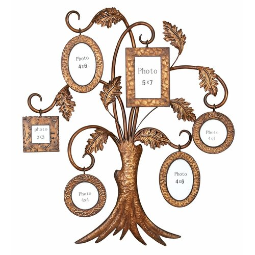 aspire family tree picture frame wall decor reviews wayfair