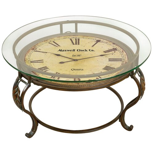 Aspire Coffee Table with Clock