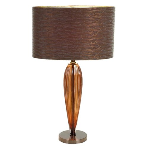 "Aspire Kiara Modern 25"" H Table Lamp with Drum Shade"