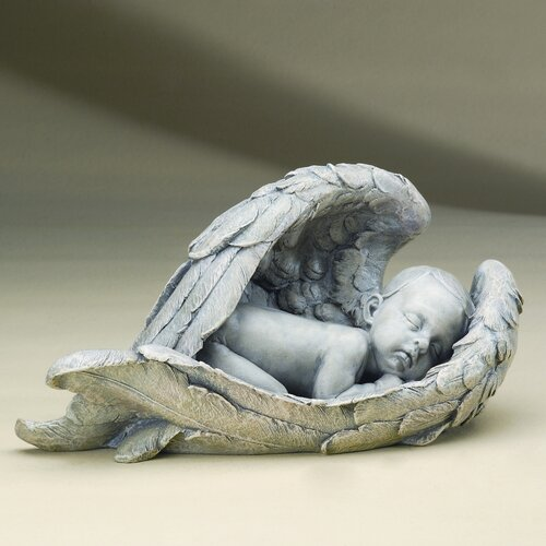 Roman, Inc. Sleeping Baby in Wings Figurine & Reviews ...
