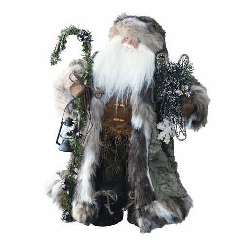 Roman, Inc. Mountain Standing Santa Figurine