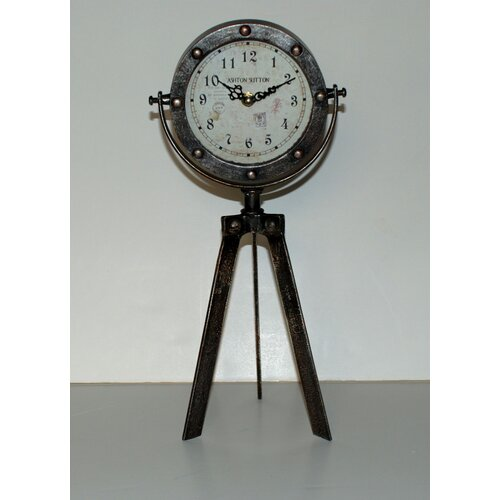 Ashton Sutton Tripod Table Clock