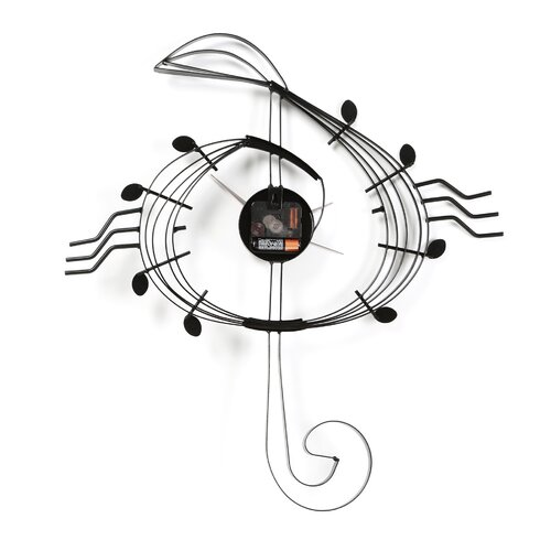 "Ashton Sutton 9.5"" Adagio Wall Clock"
