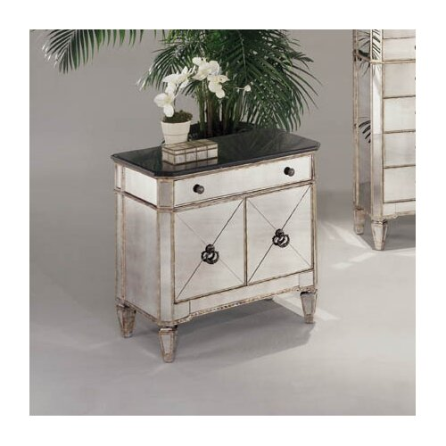 Borghese Small Mirrored 1 Drawer Chest Wayfair