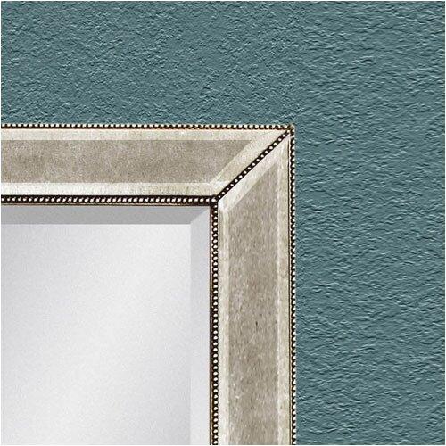 bassett mirror beaded leaner mirror reviews wayfair