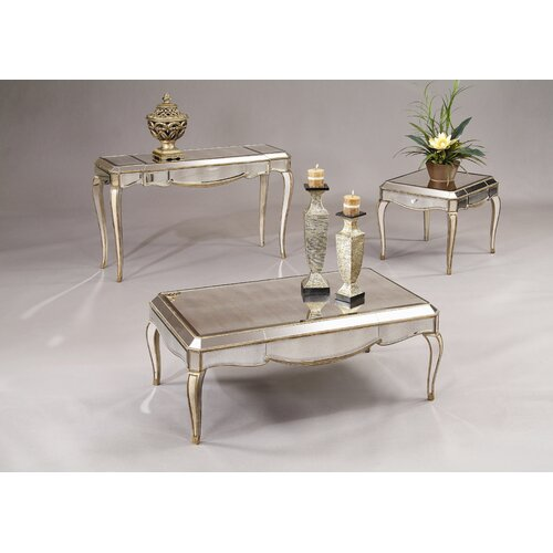 Bassett Mirror Collette Rectangle Cocktail Table