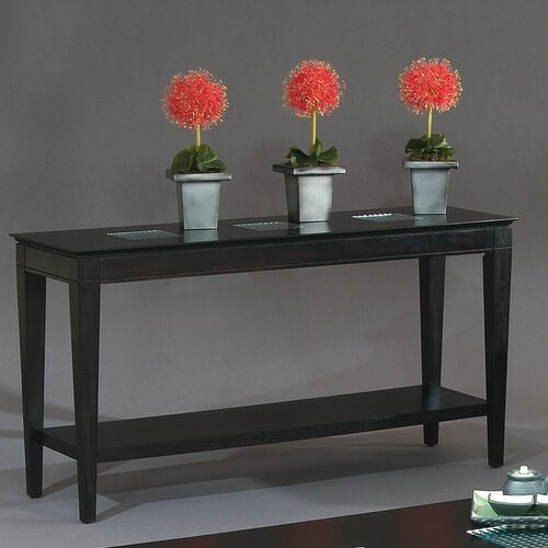 Bassett Mirror Mocchiato Console Table