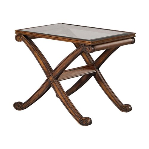 Bassett Mirror Wellington Rectangle End Table