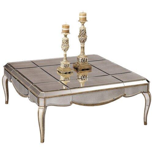 Bassett Mirror Collette Square Cocktail Table