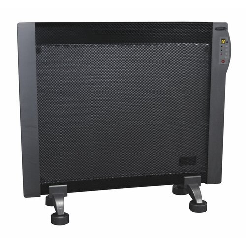 Soleus Air 1,500 Watt Convection Flat Panel Mountable Miathermic Space Heater with Digital Display and Remote