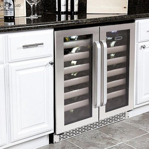Elite 40 Bottle Dual Zone Built-in Wine Refrigerator