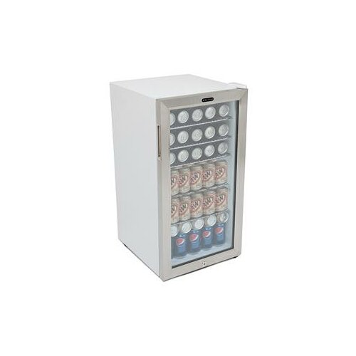 Beverage Refrigerator with Lock