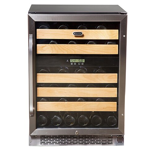 46 Bottle Dual Zone Wine Refrigerator