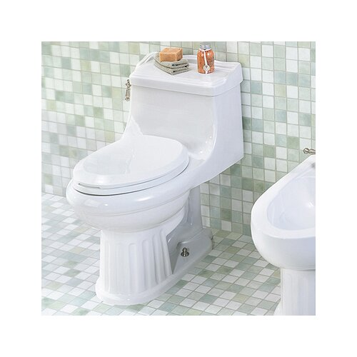 St Thomas Creations Arlington Chair-Height 1.28 GPF Elongated 1 Piece Toilet