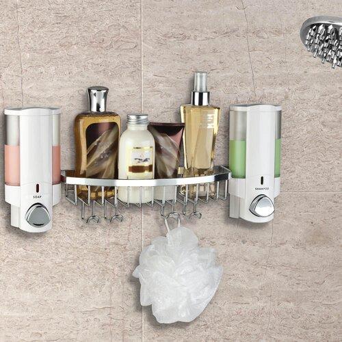 Better Living Products Aviva II Dispenser Shower Basket