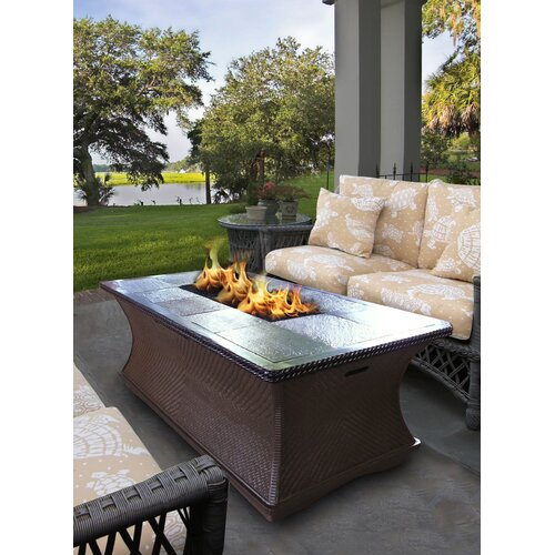 Monterey Coffee Table Fire Pit Wayfair