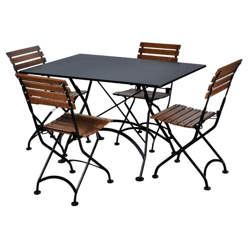 Furniture Designhouse European Café Folding Side Chair