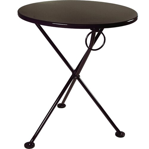 "Furniture Designhouse European Café 28""  3-leg Folding Bistro Table"