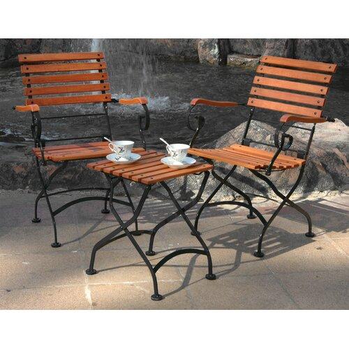 Furniture Designhouse European Café Folding Coffee Table/Bench