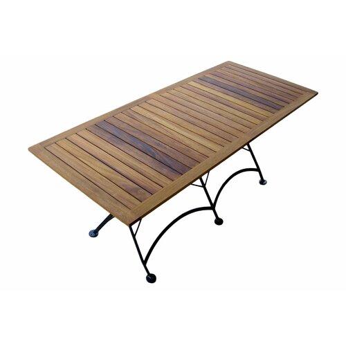 """Furniture Designhouse European Café  32"""" x 72"""" Folding Table"""