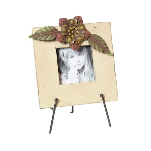 Wood Picture Frame on Easel