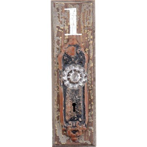 Doorknob #1 Wood Wall Hook
