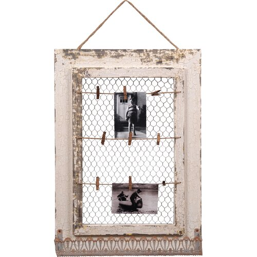 Wood Memo Picture Frame