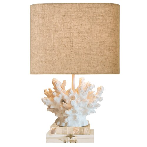Couture, Inc. Coastal Retreat Wayfarer Coral Table Lamp